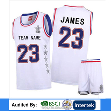 latest basketball jersey design 2017 100% polyester basketball uniform sublimation Applique basketball uniform