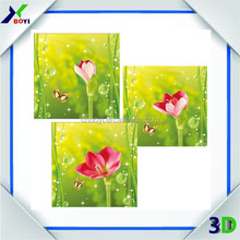 cartoon lenticular 3d picture moving