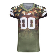 Wholesale sublimation customized youth best selling men's dri fit Amercian football jerseys