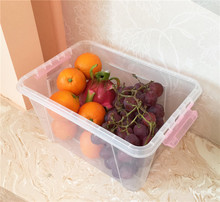 Wholesale Clear Tote Plastic Bins for Household