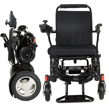 Aluminum lightweight folding power wheelchair