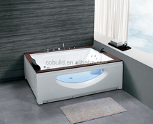 K-615 all sanitary items hot selling free standing acrylic cheap jakuzi spa glass whirlpool bath tub, bathtub controller