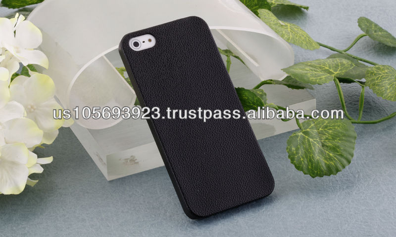 Leather Coatting Hard Fashion Case For Phone5