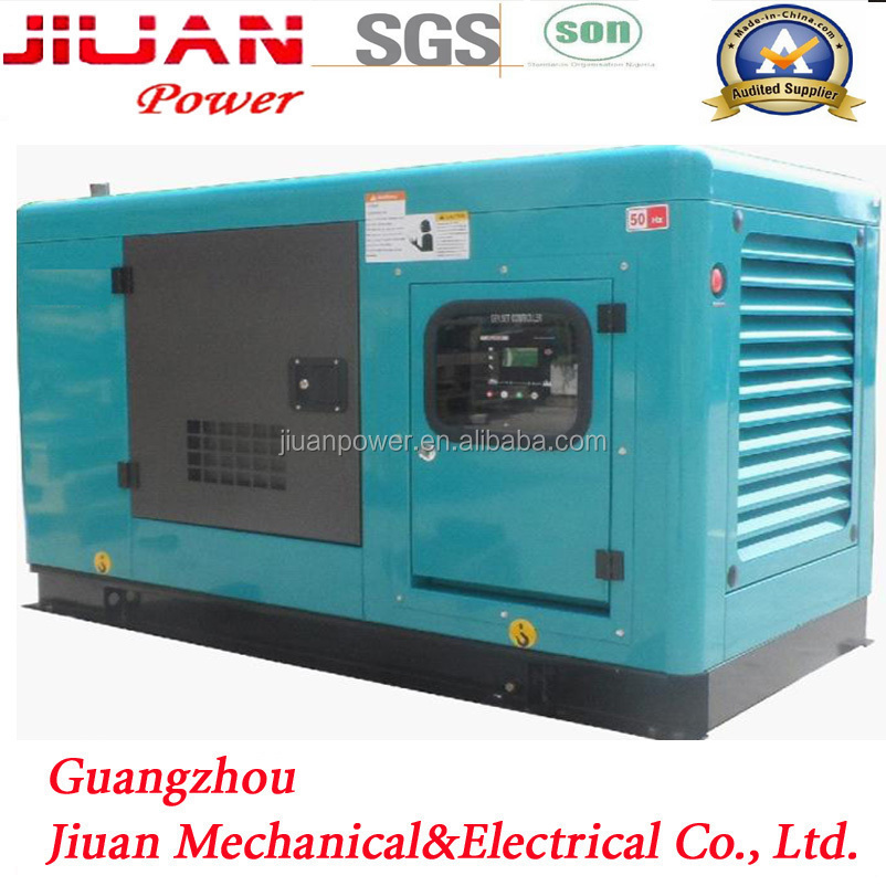 guangzhou factory price sale 20KW power silent electric diesel generator set genset generator generator head 20kw
