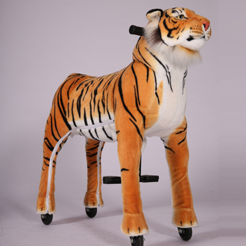 Hot selling toy!!! Nice price animals , tiger toy ride horse  scooter , animal cycels in mall