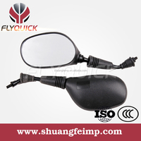 ZF001-90 FLYQUICK Universal aftermarket scooter plastic motorcycle rearview side mirror for HONDA HERO YBR125