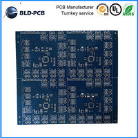 Double sided SMT PCBA with RoHS Mark/ smd led driver pcb board/ led PCB 220V control PCB circuit board