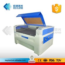 Keyland KQG1612 laser engraving machine for jeans with max engraving speed 6000mm per minutes