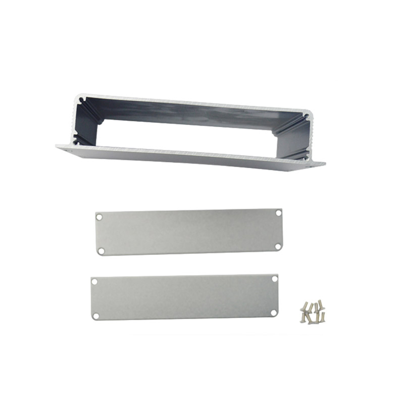 colored Aluminum Anodized Light Box Extrusion Profiles with screw