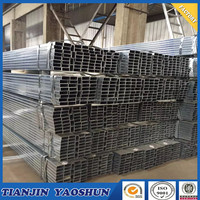 galvanized square hollow section pipe gi tube