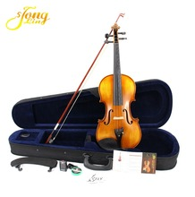 Different Color Solid Wood Violin With Case 1/2 TL002-2, German Music violin
