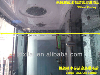 Nano Easy Cleaning Coating for glass shower room