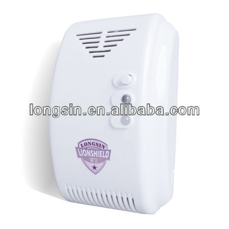 Longsin Manufacturer combustible LPG LNG gas detector alarm with relay output LS-838-1DL