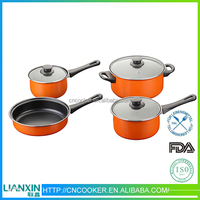 Chinese products wholesale die cast casserole cookware set