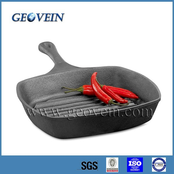 2016 Amazon Top Selling Japanese Grill Cast Iron Sauce Pan