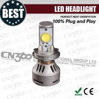 High power 35w conversion cree led h4 headlight kit