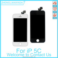 Original LCD Screen Assembly With All Parts for iPhone 5C BRAND NEW LCD with Digitizer in Top Quality Black & White