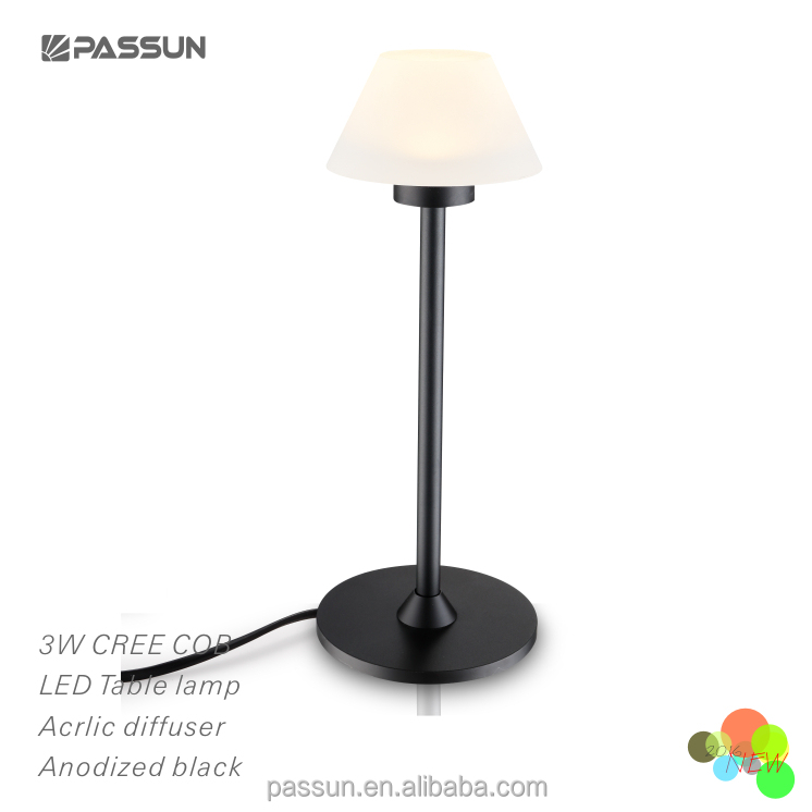 zhong shan indoor lighting unique design led table lamp