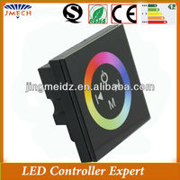 Hot touch pannel wall controller 12v led touch sensitive dimmer