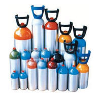 5 Liter Aluminum Cylinders for Medical Oxygen Uses