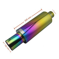 China Best Selling HKS Neo Chrome Exhaust Muffler Tail Pipe for Sell