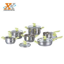 New Product Luxury Steel Pot Cookware Kitchenware Wholesale