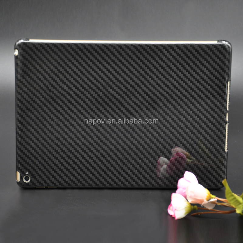 China Tablet Carbon Fiber Cases Accessory For iPad air 2 Carbon Fibre Tablet Case