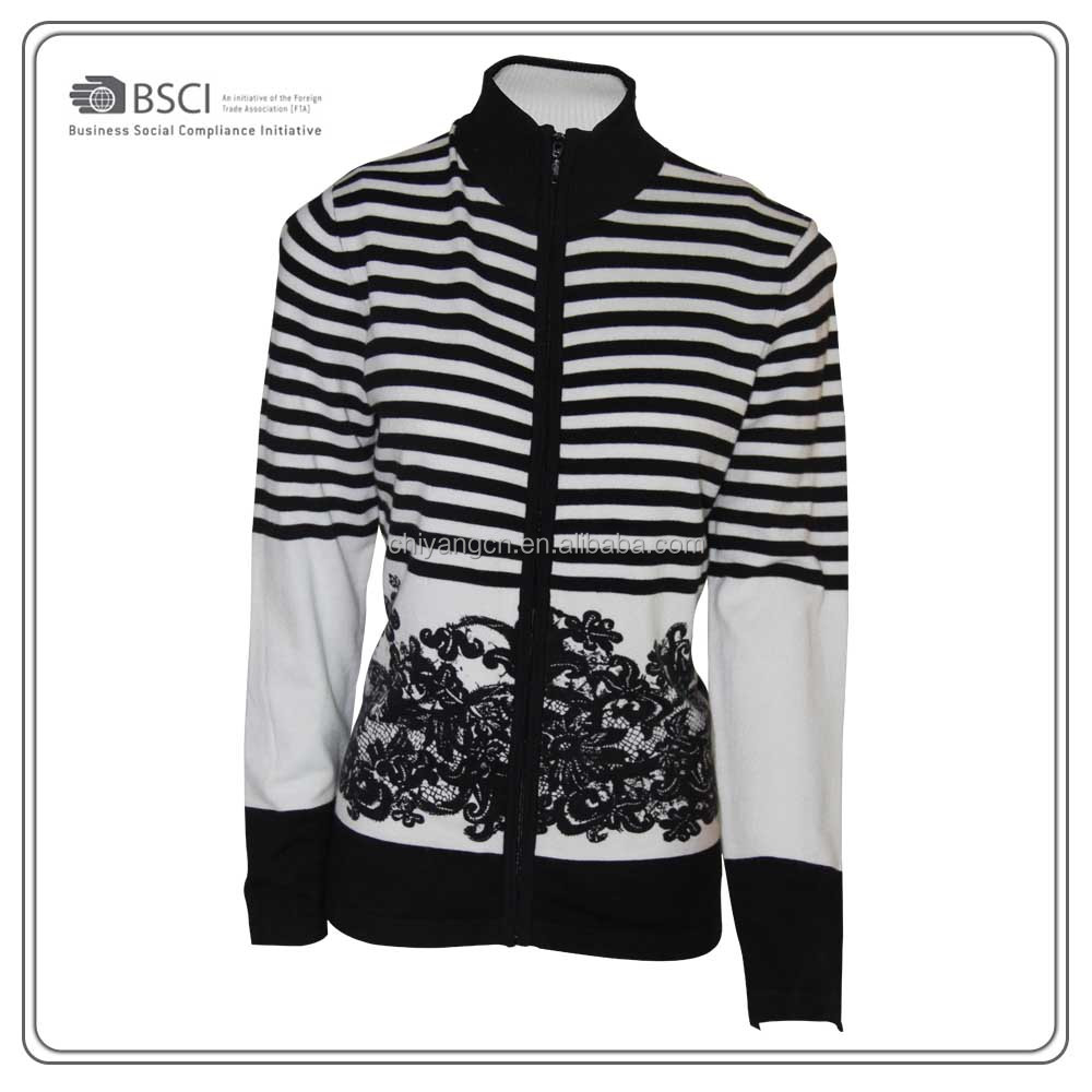 Fashion Style Cardigan Sweaters in OEM Design