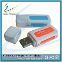 Wholesale all in one usb 2.0 card reader driver