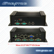 ZC-G28DL Fanless Mini Industrial PC,12v Fanless Computer,Fanless Mini PC