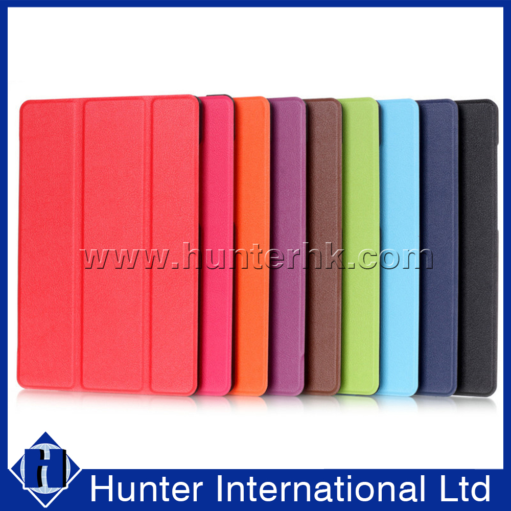 Tri-Fold Foldable Smart Cover For Kindle Fire 7