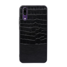 Crocodile PU Leather Cover Case for Huawei P20 / P20 PRO