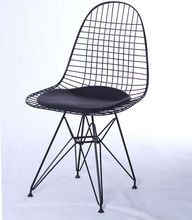 iron wire chair, hotel metal chair