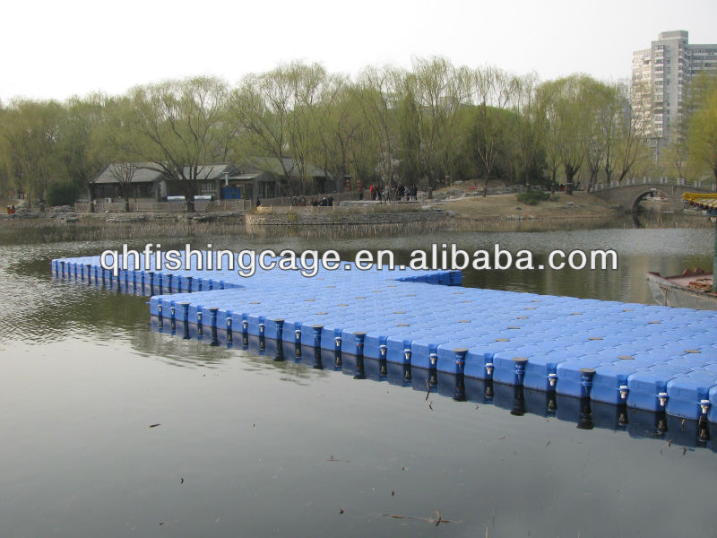 HMWHDPE standard cube stable floating pontoon
