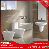 Foshan China Top 10 Brands Cheap Price Sanitary Ware With Ceramic Toilet