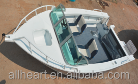 5.0m/17ft Aluminum Runabout Fishing Boat/Yatch - CE Certification