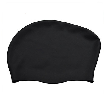 For long hair waterproof  durable large size oem swimming caps