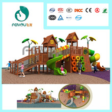 New Design Outdoor Game PlayWooden Equipment outside play areas special for kids benefits of outdoor play