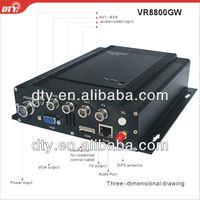 4 ch full D1 h.264 Mobile DVR wih gps and Wi-Fi
