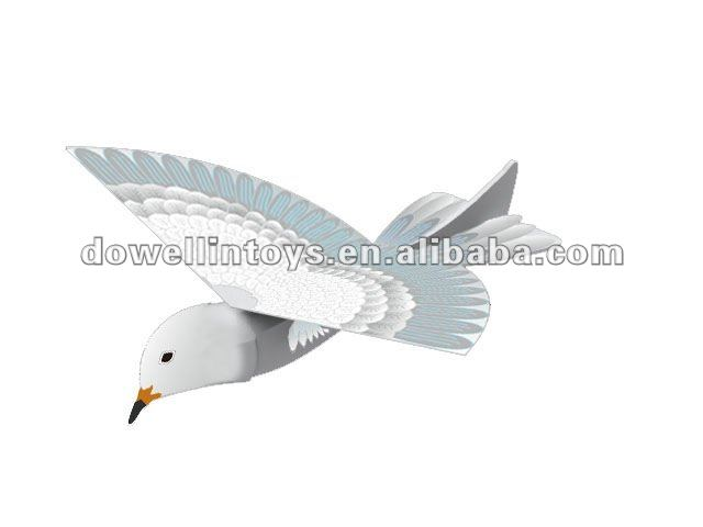Hot Sales Remote Control Flying Bird Toys/Radio Control Bird With Gun