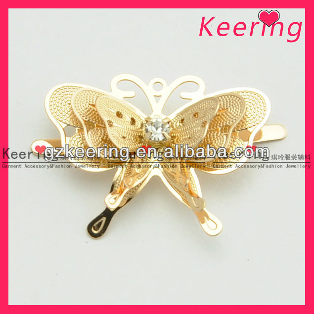 2013 butterfly decoration 3D buttefly for shoe for bag WSC-177