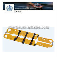 Emergency medical equipment,plastic scoop stretcher,X-RAY translucent,MRI,hospital rescue dvice WSX-E5