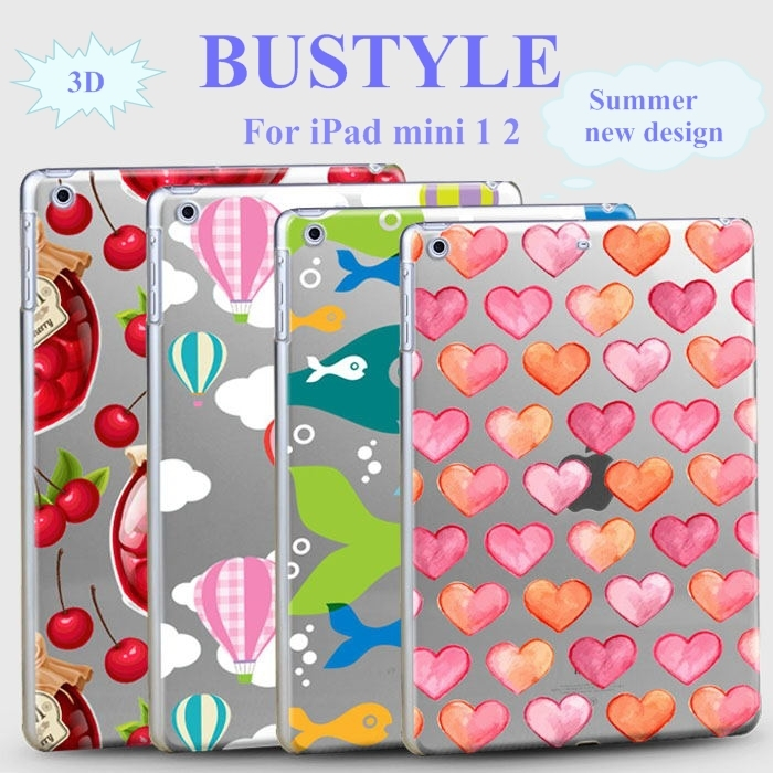 2015 New 3D Hollow out Custom Design High Quality Soft Slim tpu Protector Cover Case for Apple iPad air mini 1 2