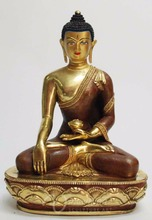 Asia fengshui indoor zen garden metal crafts bronze budha statue for sale