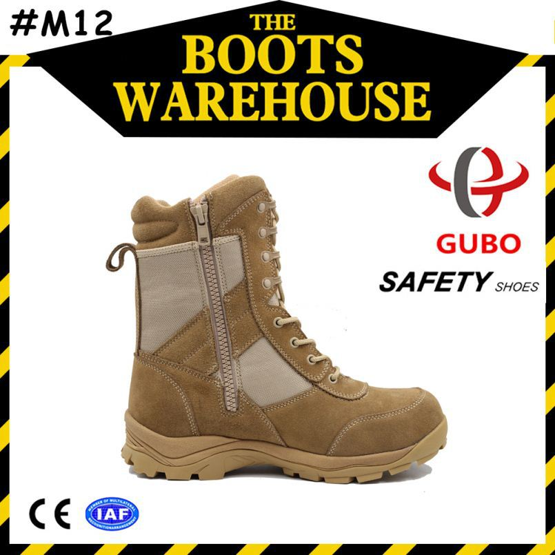 high heel desert army boots steel teocap kitchen cleaning slipper