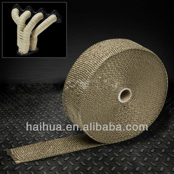 Titanium Exhaust Turbo Heat Wrap