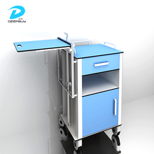 China Suppliers Hot Sale HPL Board Hospital Medical Bedside Tables