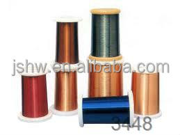 enameled wire ECCA enameled copper rectangular wire copper clad aluminum wire