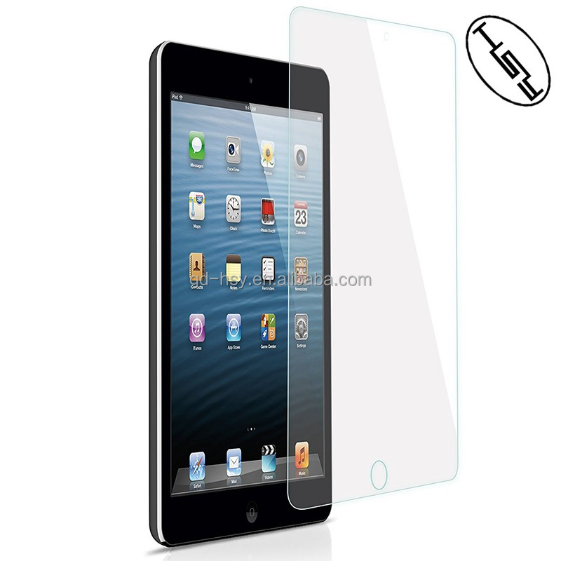 HUYSHE scratch resisitant tempered glass screen 9H protector for Apple ipad mini 4