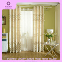 Polyester printing window curtain, window panel, printing drapes from china